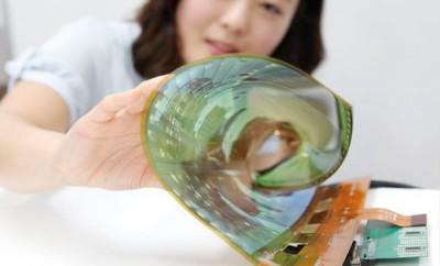LG investiert in roll- und faltbare Displays