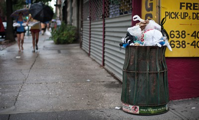 Mülltonnen versorgen New York mit Internet