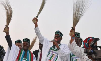 Nigerias Präsident auf den Spuren Robin Hoods