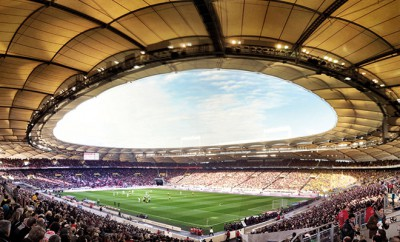 Bundesliga: Stadion VfB Stuttgart