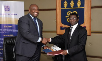 GE spendet Universität von Ghana 100.000 Euro