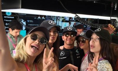 Kendall Jenner und Lewis Hamilton - Laeuft da was