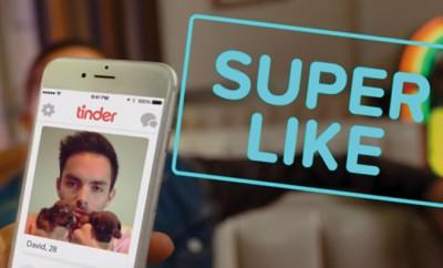 Tinder führt den Super Like ein
