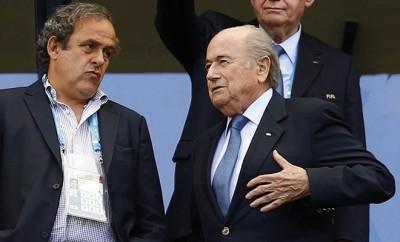 Blatter und Platini vor Suspendierung
