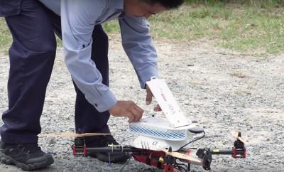 Post in Singapur testet Drohnen als Postboten