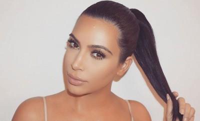 Kim Kardashians Geheimnis für tolle Haare? Selten Waschen!