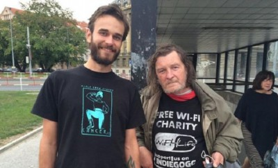 Obdachlose als wandelnde Hotspots