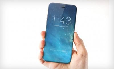 Konzept eines iPhone 7 mit randlosem Display.
