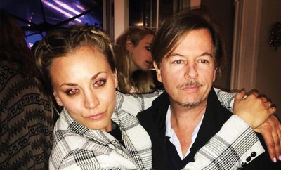 Kaley Cuoco datet David Spade.