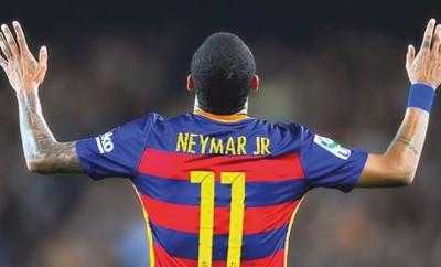 Neymar beim FC Barcelona so gut wie nie.