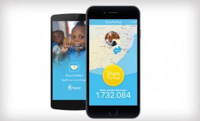 ShareTheMeal ermöglicht es per Knopfdruck einen Beitrag für die Flüchtlingshilfe zu leisten.