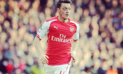 Mesut Özil von Arsenal London.