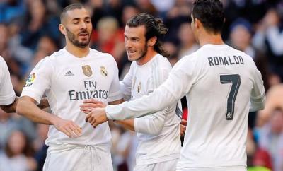 Bale hat ein super Verhältnis zu Ronaldo.