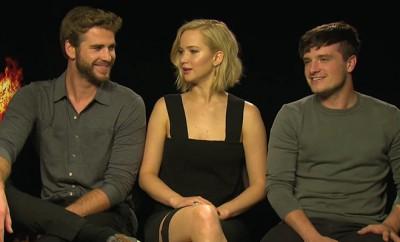 Liam Hemsworth macht sich über Jennifer Lawrence lustig.