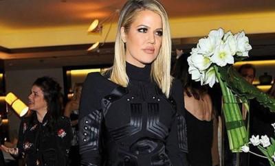 Khloe Kardashian hatte was mit einem unbekannten Star,