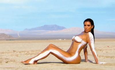Hat Kim Kardashian wieder mit Photoshop nachgeholfen?