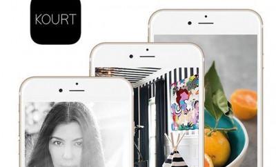 Kourtney Kardashian startet eigene App und Website.