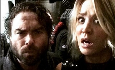 Big Bang Theory: Johnny Galecki und Kaley Cuoco.