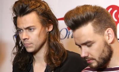 One Direction: Harry Styles und Liam Payne.