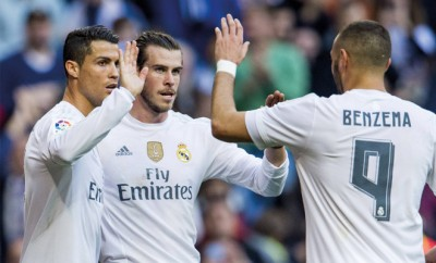 Cristiano Ronaldo, Gareth Bale und Benzema sind wieder in Topform.