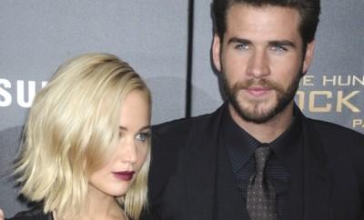 Jennifer Lawrence soll zwischen Liam Hemsworth und Miley Cyrus stehen.