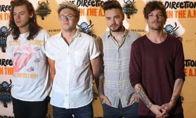 One Direction: Harry Styles, Niall Horan, Liam Payne und Louis Tomlinson.
