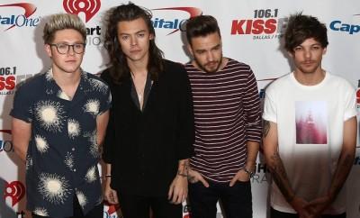 One Direction: Louis Tomlinson, Harry Styles, Niall Horan und Liam Payne wollen die Brit Awards schwänzen.