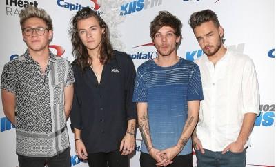One Direction: Louis Tomlinson, Harry Styles, Niall Horan und  Liam Payne schlagen Taylor Swift auf Twitter.