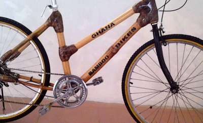 Ghana Bambus Bikes baut Fahrräder aus Bambus.