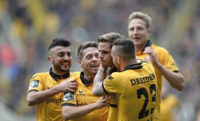 Dynamo Dresden gelingt der Befreiungsschlag.