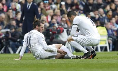 Gareth Bale wird immer wieder von Verletzungen geplagt.