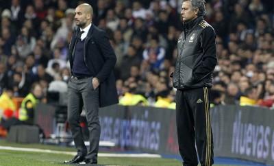 Kommt es in England zum Duell zwischen Jose Mourinho und Pep Guardiola?