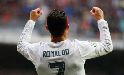 Cristiano Ronaldo nach seinem Treffer für Real Madrid gegen Bilbao.
