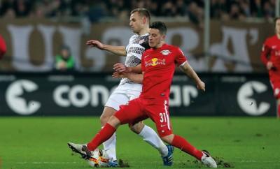 RB Leipzig mit Erstligaambitionen.