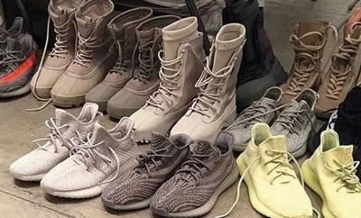 Kanye West stellt seine neuesten Yeezy Boost vor.