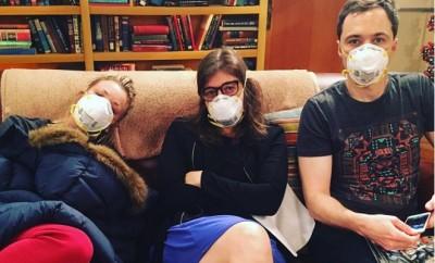 Big Bang Theory-Cast lahmgelegt? Kaley Cuoco und Jim Parsons sind krank.