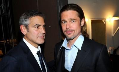 Brad Pitt, Leonardo DiCaprio und George Clooney kämpfen um diesen Film.