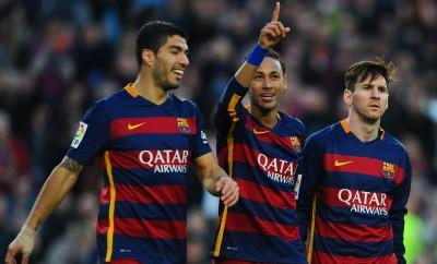 Neymar, Luis Suarez und Lionel Messi wollen mit dem FC Barcelona historisches leisten.
