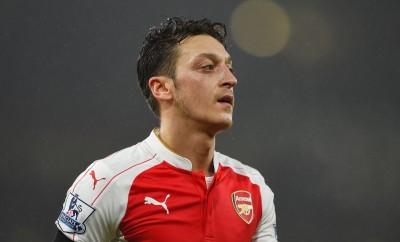 Mesut Özil Im Spiel von Arsenal London gegen Newcastle United.