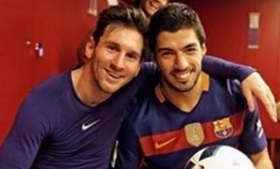 Lionel Messi und Luis Suarez sind auch privat gut befreundet.