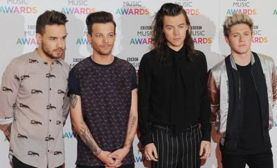 One Direction: Niall Horan trifft Louis Tomlinson und Liam Payne in Los Angeles.