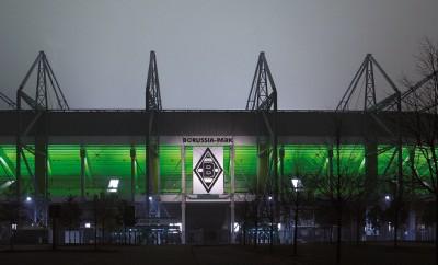 Das Stadion von Borussia Mönchengladbach.