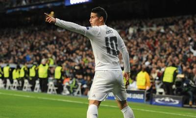 Real Madrid: James Rodriguez überzeugte im Spiel gegen AS Rom.