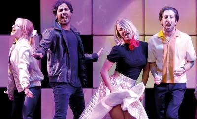 Kaley Cuoco, Johnny Galecki und der Rest von The Big Bang Theory tanzte für den guten Zweck.
