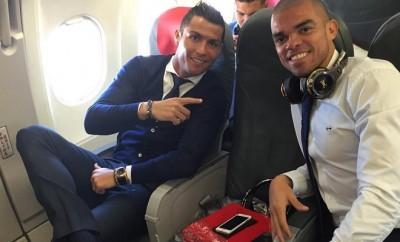 Cristiano Ronaldo wurde in Manchester ein frenetischer Empfang bereitet.