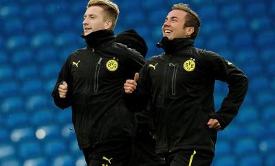 Mario Götze und Marco Reus könnten in der nächsten Saison wieder gemeinsam auf dem Platz stehen.