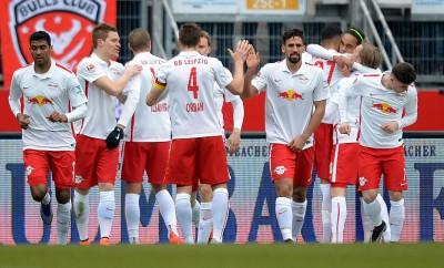 RB Leipzig hat gute Chancen auf den Aufstieg in die Bundesliga und will mittelfristig in die Champions League.
