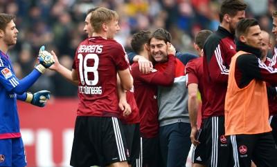 Der 1. FC Nürnberg hat den Relegationsplatz fast sicher.