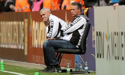 Uwe Neuhaus muss die Mannschaft von Dynamo Dresden in der nächsten Saison umbauen.
