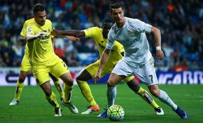 Cristiano Ronaldo musste die Partige gegen Villarreal aufgrund einer Verletzung vorzeitig beenden.